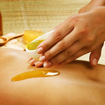 С аромамаслами можно делать любой массаж