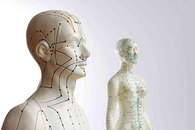 Активные точки на теле человека