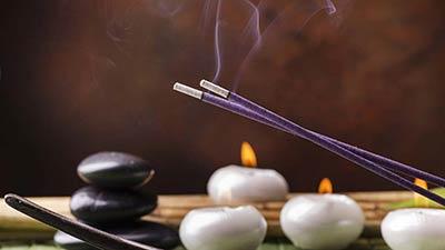 Избавление от негатива пламенем свечи