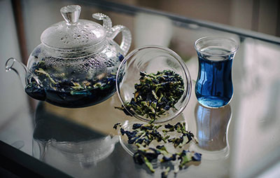 Синий чай, как средство для похудения