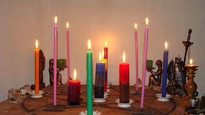 Ритуалы магии свечей