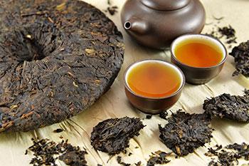 Сорта чая пуэр
