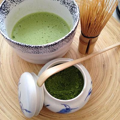 Маття – зеленый порошковый чай