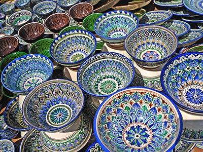 Керамика из Риштана