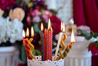 Значение цвета свечей
